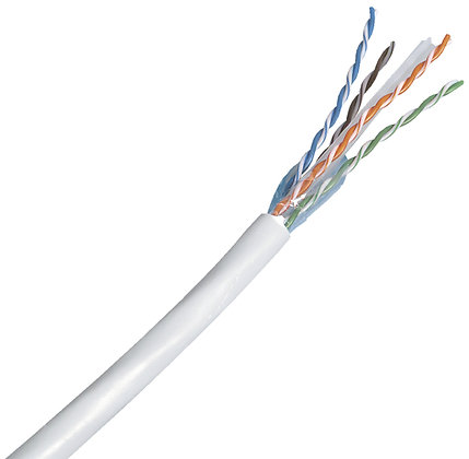 Câble de données cat6 U-UTP 4×2×0.58 450MHz LS0H,R&Mfree. Eca