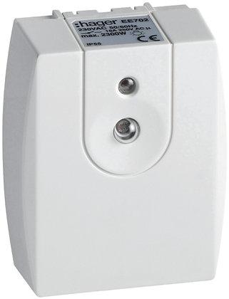 Interrupteur crépusculaire Hager IP55 16A/2300W