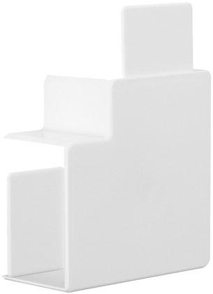 Angle plat Tehalit pour LF 40060/61 blanc pur