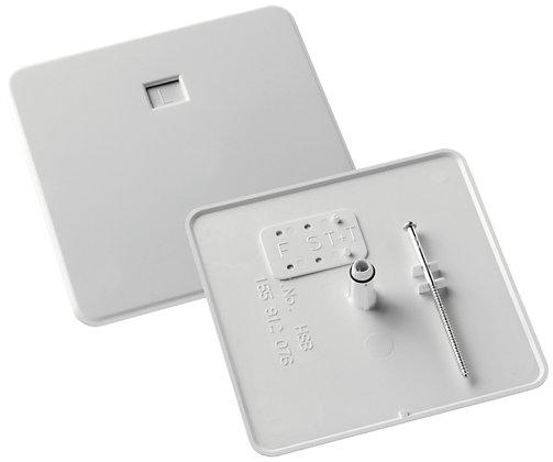 Couvercle à broches HSB 130×130mm grandeur 2/3 blanc