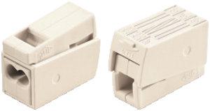 Borne Wago pour luminaire WAGO 1-2.5/0.5-2.5mm² blanc