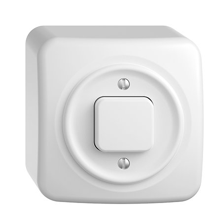 Interrupteur AP STANDARDdue 3/1 blanc