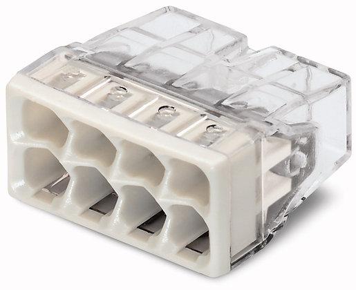 Borne WAGO 8L 0.5-2.5mm² de boîtier COMPACT 450V