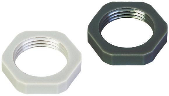 Contre-écrou Plica PA M20×1.5 six pans, gris