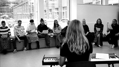 Line Rosenlund Musik Kursus for lærerstuderende i Silkeborg på Silkeborg Lærerseminarium