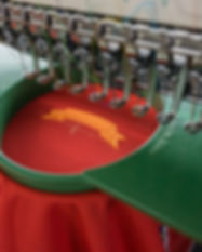 Embroidery machine needle in Textile Ind