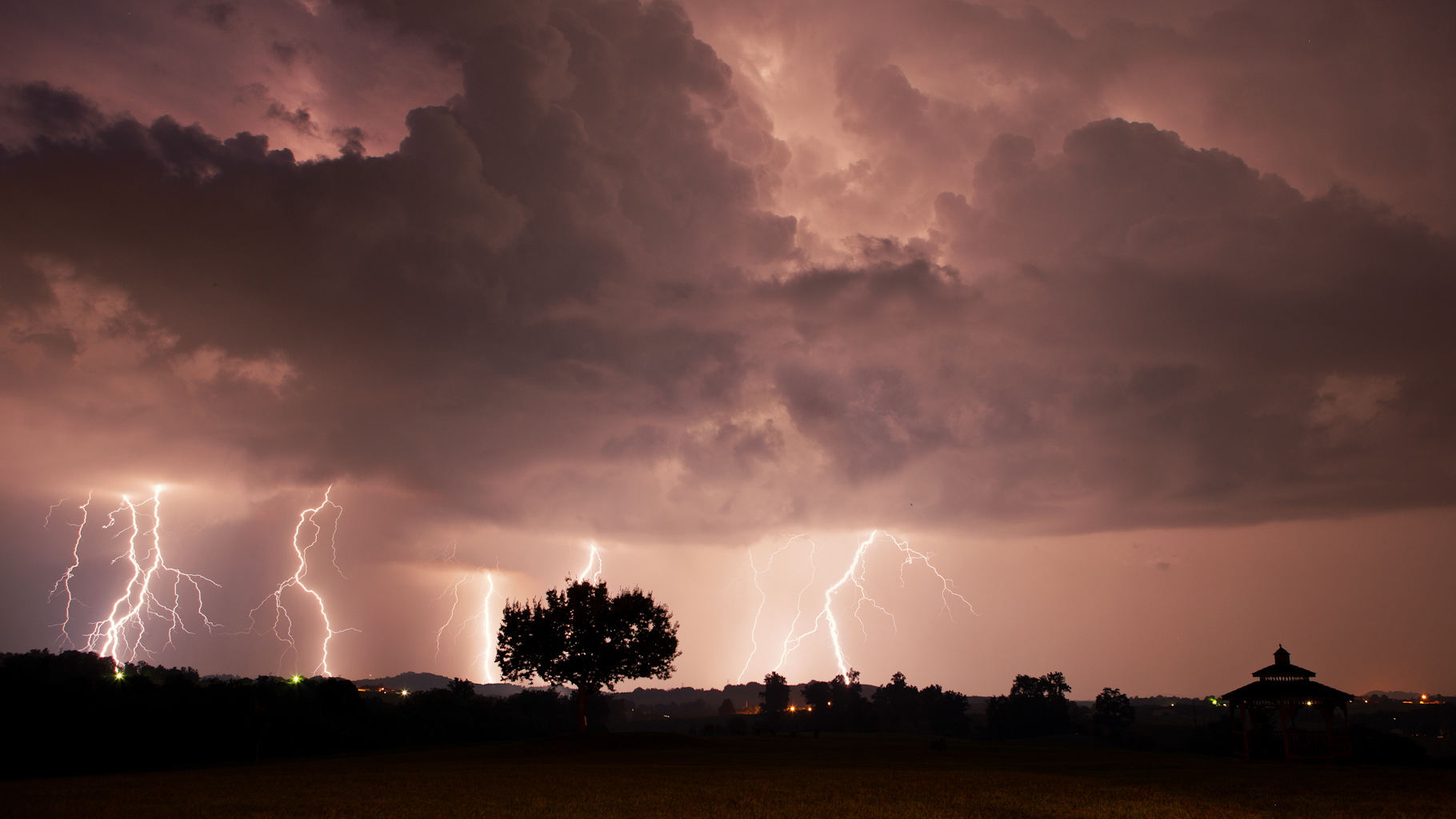 Limestone TN storm
