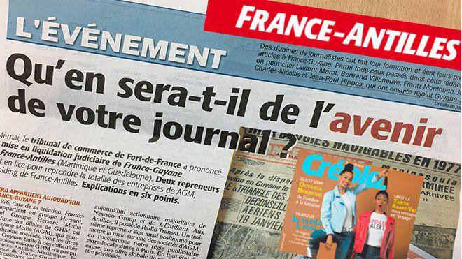France-Antilles : que vive notre quotidien !