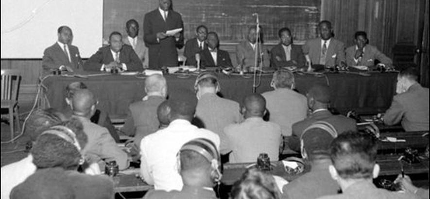 Discours prononcé le 21 juillet 1945 par Aimé Césaire  à l'occasion de la fête dite de V. Schoelcher