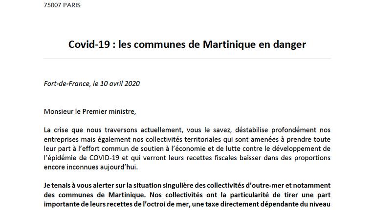 Covid-19 : les communes de Martinique en danger