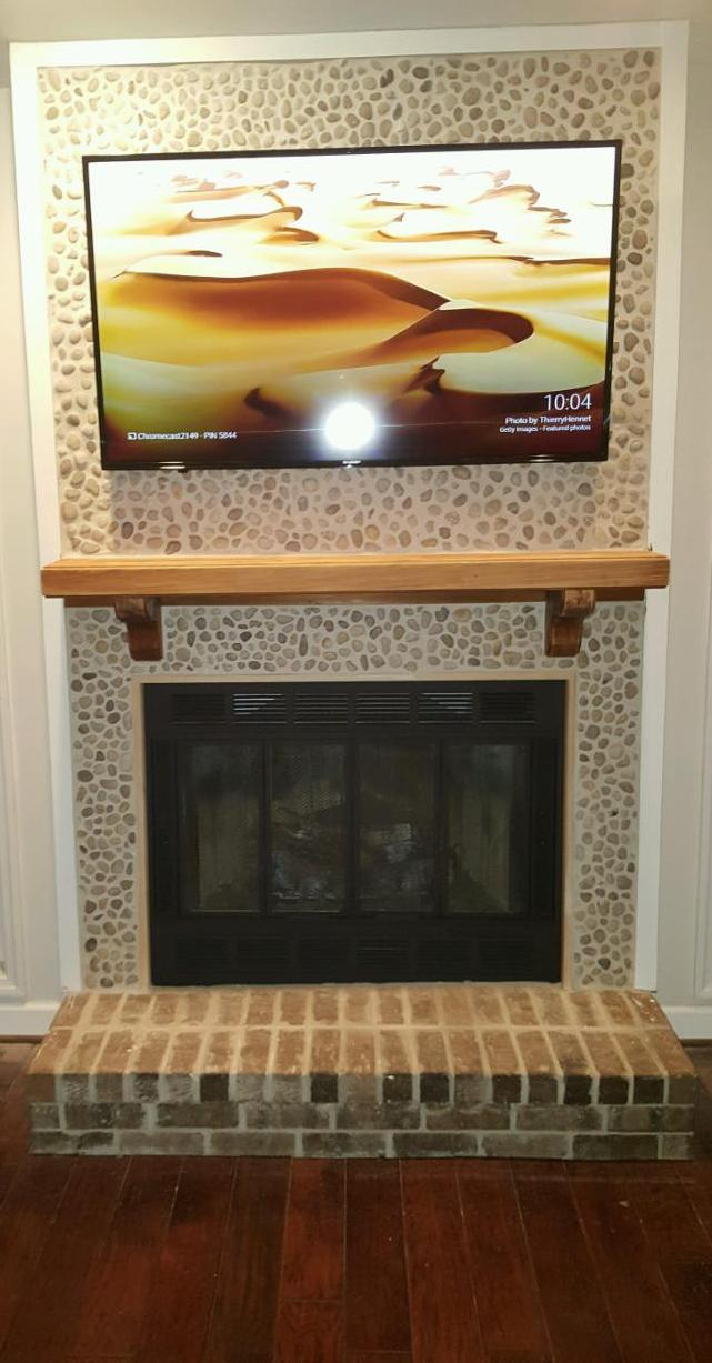 Faber fireplace