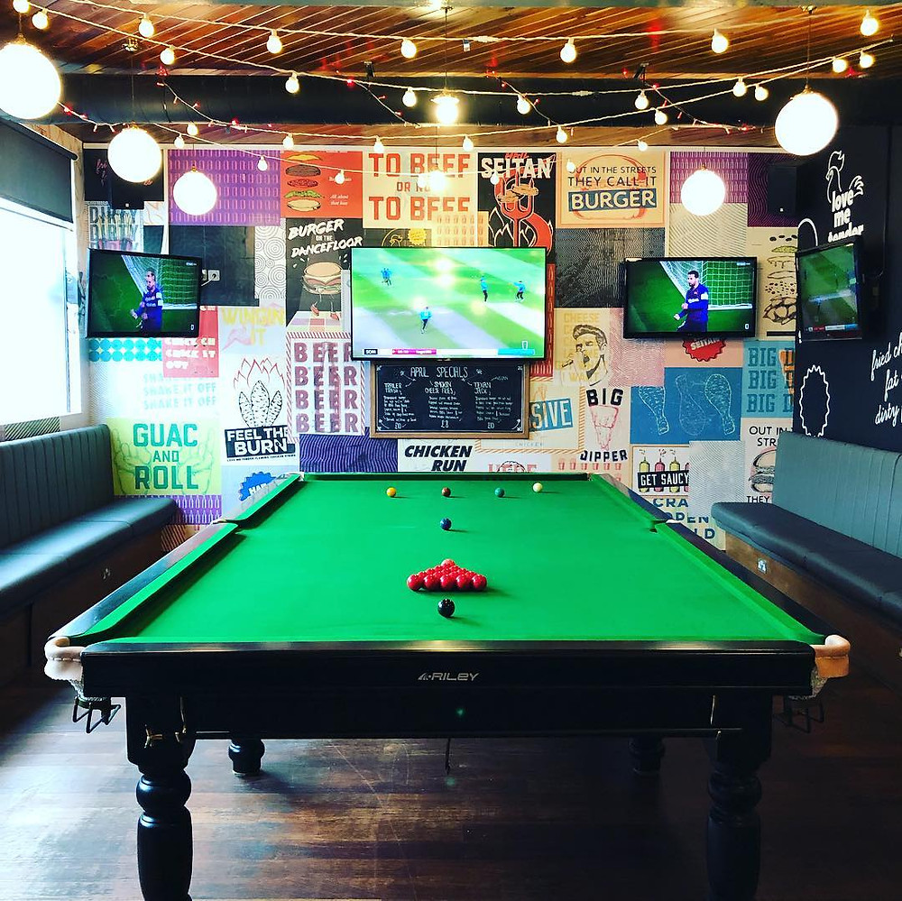 Snooker table @ Common Room