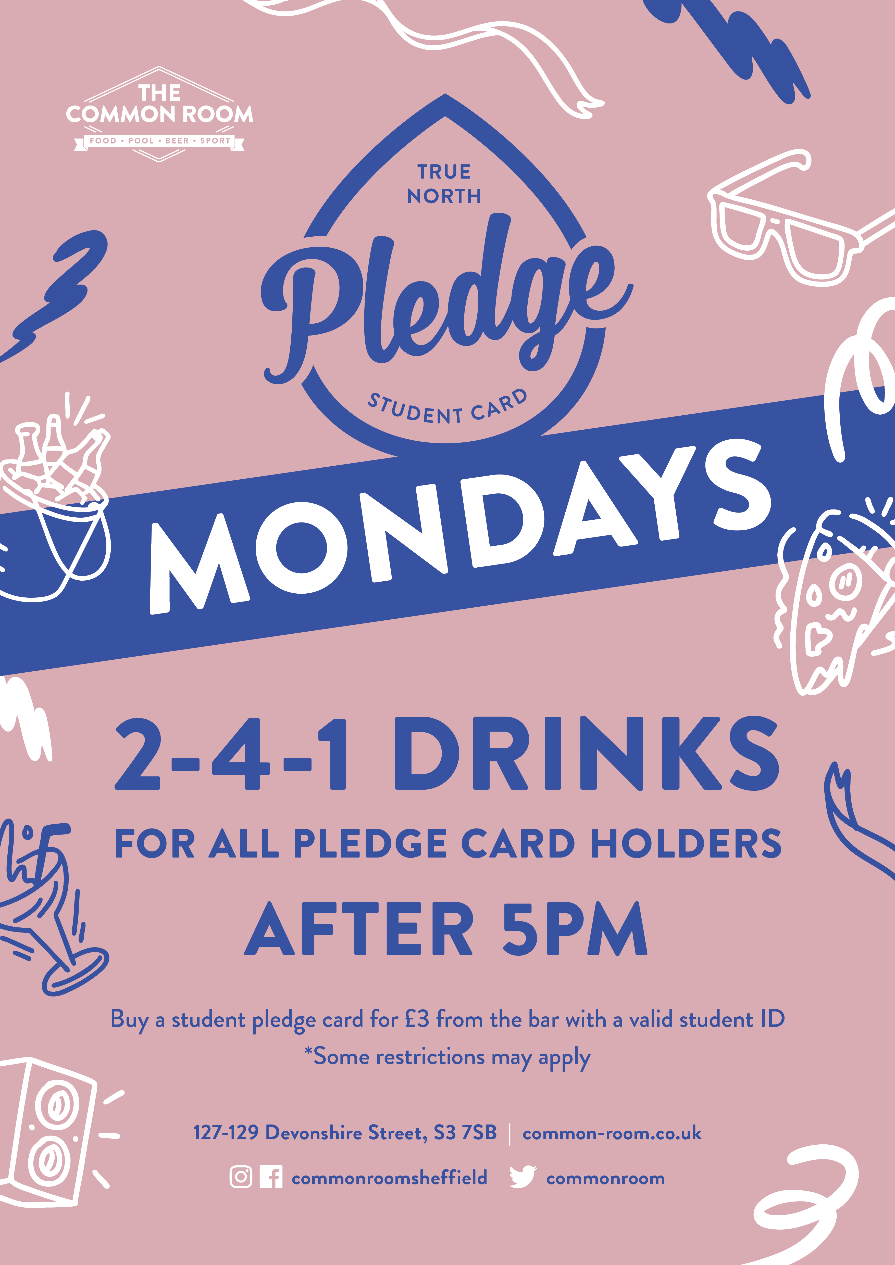 Pledge Mondays
