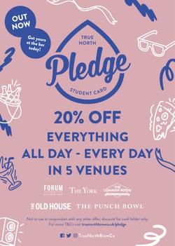 Pledge out now!