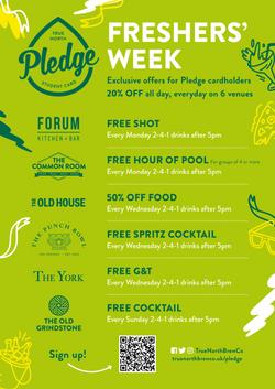 Pledge Freshers' Week