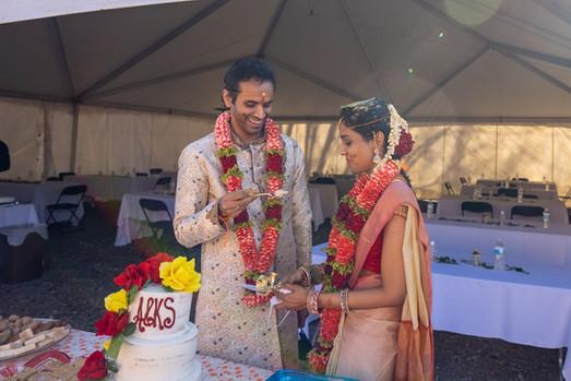 Anand Ravipati and Krishna Samyuktha Wed