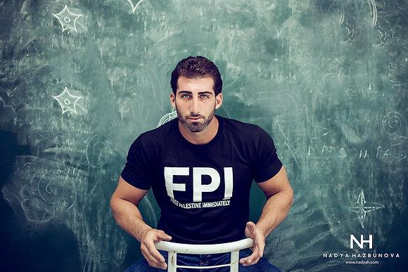 FPI tshirt - FREE PALESTINE IMMEDIATLY