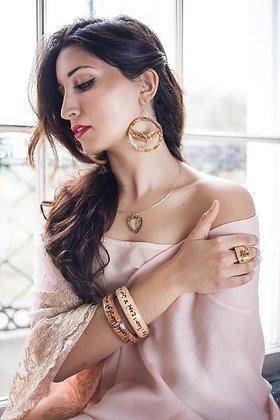 """ The Past"" bracelet qoute by Mahmoud Darwish"