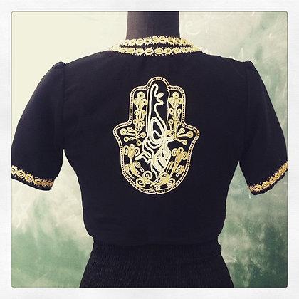 Taqseerah Fatimas Hand bolero jacket