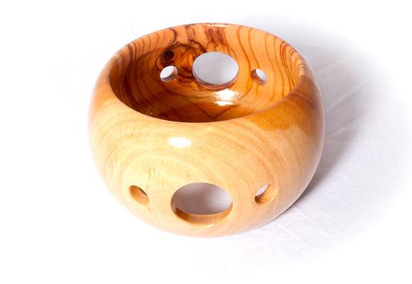 circles maxi olivewood bangle