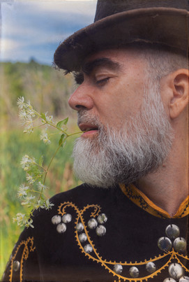 Fredo Viola, oddfellows close up, portrait by Nicholas Kahn