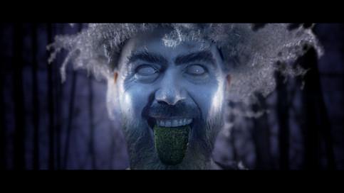 Pine Birds - the green man