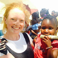 Claire on Gap Year project, Tanzania