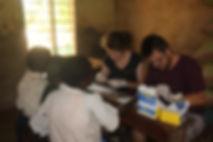 Malaria testing, Musoma, Tanzania