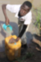 Helping provide access to clean water can save lives. Tanzania