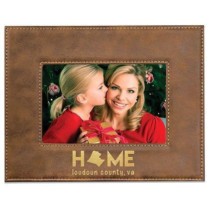 "Leatherette ""Home"" Frames"