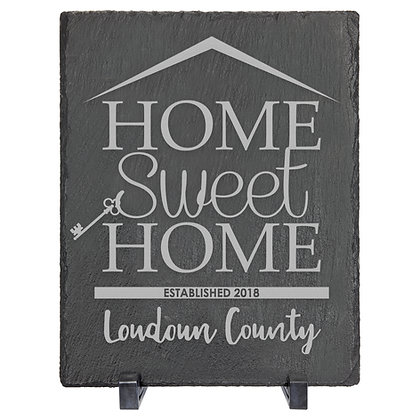 Home Sweet Home Slate Decor