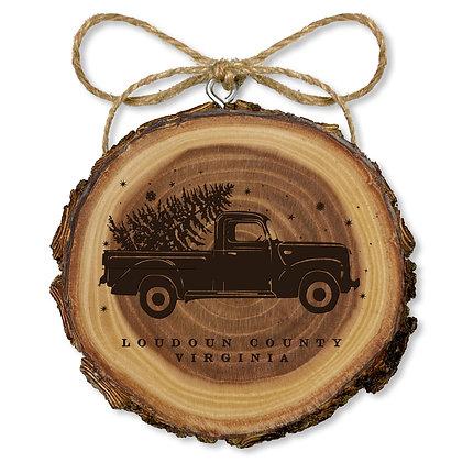 Elmwood Truck Ornament