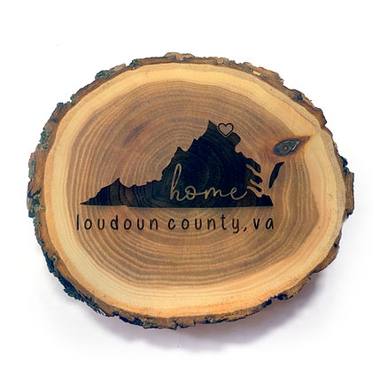 Elmwood Log Magnet