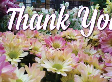 Thank You! | November Edition