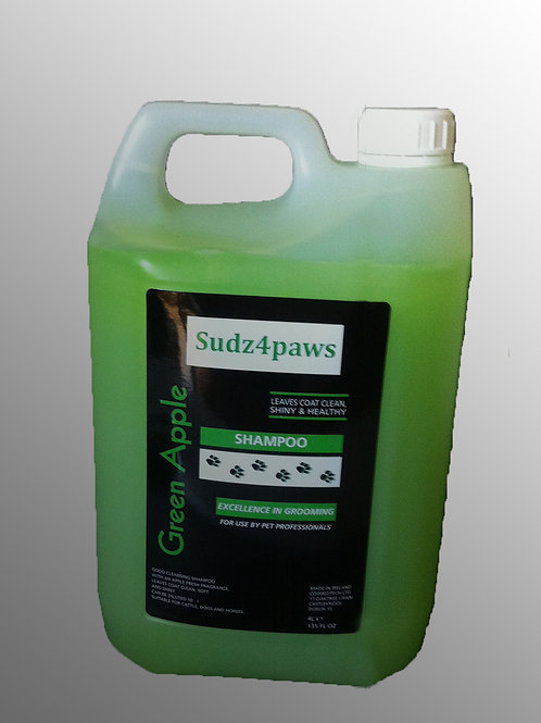 Green Apple Shampoo 4 Ltr