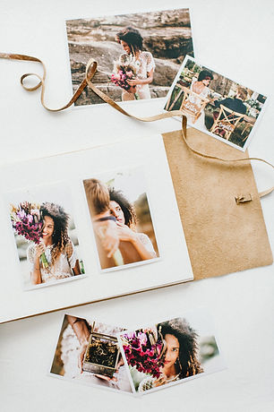 Album couro beach style weddings