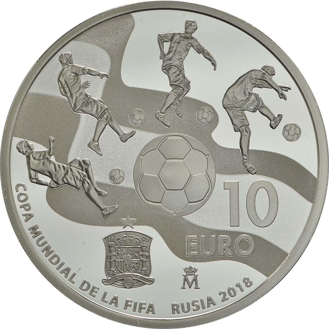 Spanien,-10-Ôé¼,-Fu+ƒball-WM,-Rv.