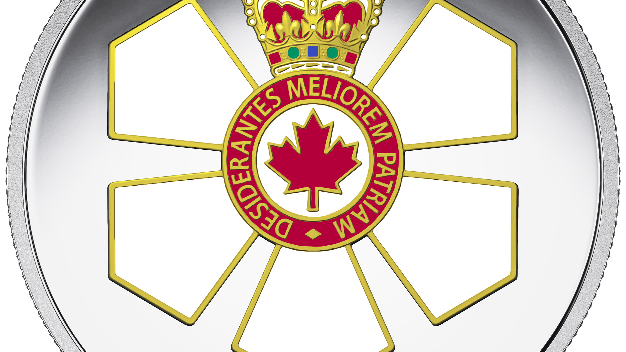 Order of Canada 50th Anniversary Reverse