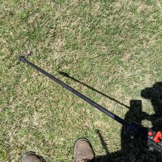 Spot spraying Bermuda grass for trailing winter weeds