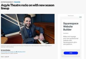 Argyle Theatre rocks on with new season lineup