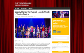 Legally Blonde the Musical – Argyle Theatre – Theatre Review