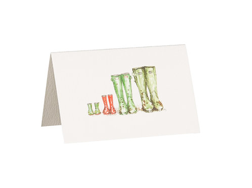 Welly Boots Boxed Mini Gift Cards