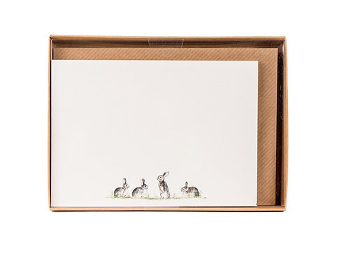 Bunnies Correspondence Postcards