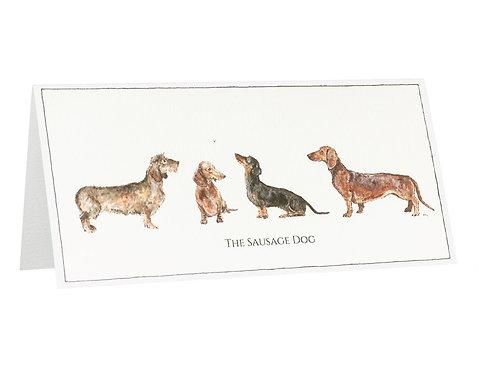 The Sausage Dog Card