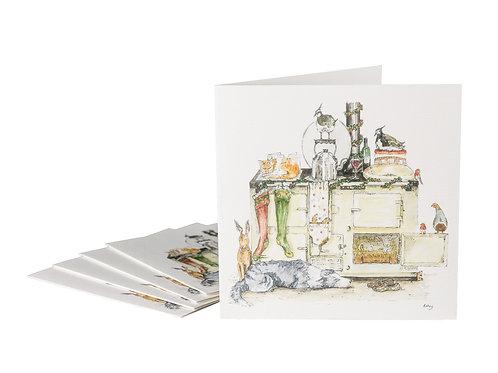 Winter Warmer Aga Christmas Cards