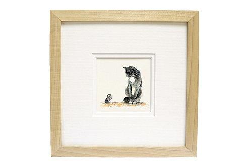 'The Owl & The Pussycat' Print