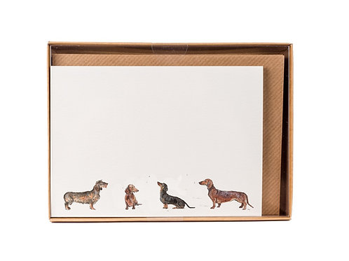Sausage Dog Correspondence Postcards