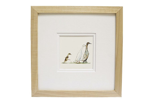 'New Arrival' Duck Print