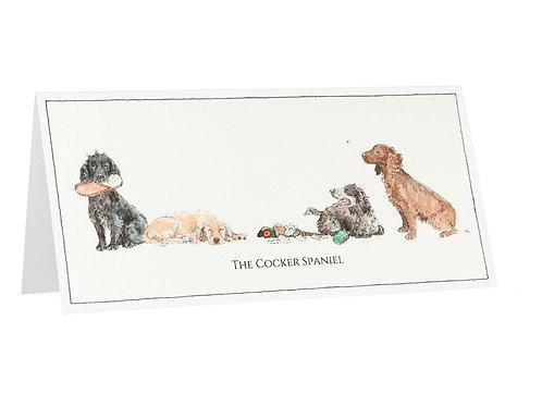 The Cocker Spaniel Card