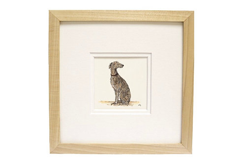 Long Dog Lurcher Print
